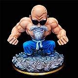 Dragon Ball Z MuscleKameSenninFigura De AcciónDBZPVCGkGoku'S Teacher Figurine MasterRoshiCollectionFiguraJuguetes 11Cm