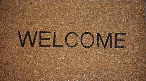 Ikea Trampa Welcome zerbino, 40cmx70cm, colore: ecru (1.5cm di spessore–alta qualità)