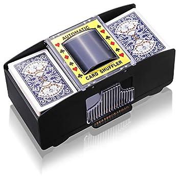 Automatic Card Shuffler Battery Operated 2 Deck Automatic Playing Card Shuffler Electric Poker Shuffling Machine