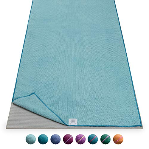 Gaiam Microfiber Yoga Mat Towel, Riverside