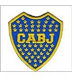 MAREL Parche del club Atlético Boca Juniors escudo 7 x 8 cm parche bordado réplica -736...