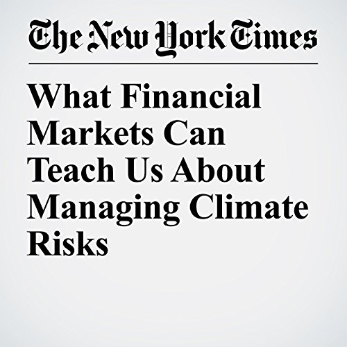 What Financial Markets Can Teach Us About Managing Climate Risks copertina
