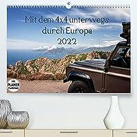 Mit dem 4x4 durch Europa (Premium, hochwertiger DIN A2 Wandkalender 2022, Kunstdruck in Hochglanz): Unterwegs mit dem Gelaendewagen in Europa, abseits der Hauptrouten. (Geburtstagskalender, 14 Seiten )