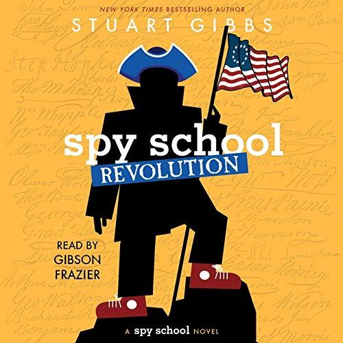 Spy School Revolution Audiobook By Stuart Gibbs cover art