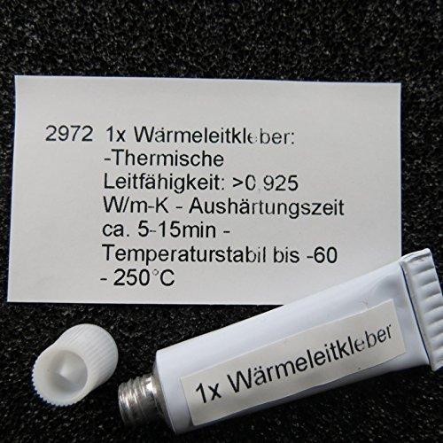 Unbekannt Wärmeleitkleber 5g Kleber CPU IC LED RAM Paste Wärmeleitfähig Kühlkörper Thermal Glue