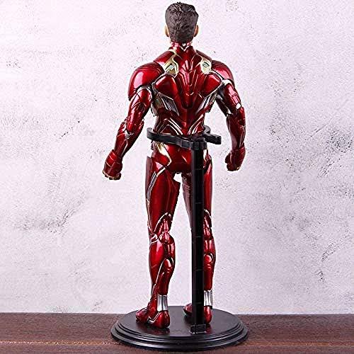 XYBHD Avengers Iron Infinity War Man MK50 Iron Man Mark Vi IV PVC Figura de acción Ironman Mark 50 Juguete Coleccionable (Color: C con Caja Colorida) -B Sin Caja Colorida