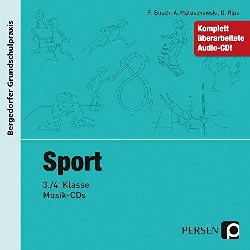 Sport - 3./4. Klasse, Musik-CD (Bergedorfer® Grundschulpraxis)