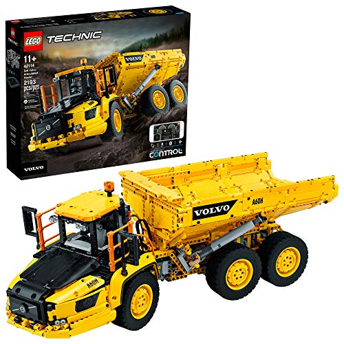 LEGO Technic 6x6 Volvo Articulated Hauler (42114) Building Kit, Volvo Truck Toy Model for Kids Who Love Construction Vehicle Playsets (2,193 Pieces)