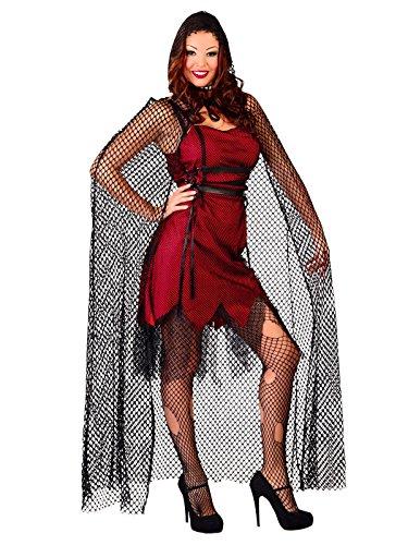 Hexmage vampire manteau à capuchon de maille 140 cm