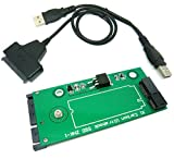 Sintech 26pin SSD to SATA Adapter Card with USB Cable, Compatible with Sandisk SD5SG2 from Lenovo X1 Carbon Ultrabook (X1 SSD SATA)