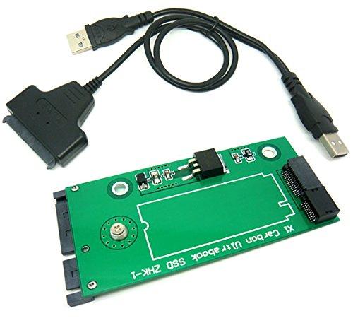 26Pin SSD a SATA adaptador de tarjeta con cable USB para SANDISK sd5sg2de Lenovo X1Carbon Ultrabook