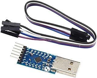Movilideas CP2104 Serie convertidor de USB 2.0 a TTL UART Módulo Compatible con 6PIN y Mejor Que CP2102