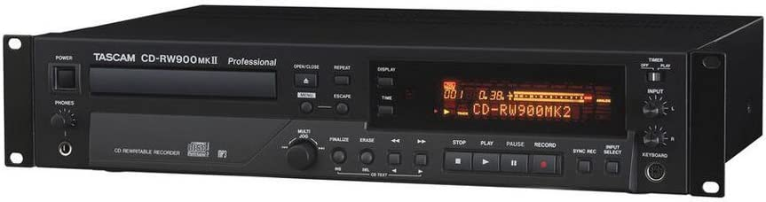 Tascam CD-RW900mkII CD Recorder Player with 1 Year Free Extended Warranty