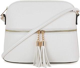 8f6a1c5d69e6 Amazon.com  Whites - Crossbody Bags   Handbags   Wallets  Clothing ...