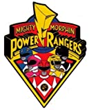 Animewild Mighty Morphin Power Rangers Logo & Characters Sticker