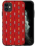 CASFY - Funda para teléfono compatible con iPhone 11, diseño de Navajo rojo KU109_8