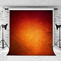 HD5x7ftオレンジポートレート写真の背景抽象的なオレンジ色の背景写真ブースの背景