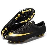 AIRUYI Zapatos deportivos Botas de fútbol Tacos Zapatos de fútbol Profesionales Spikes Zapatos de competición de fútbol Zapatillas de...