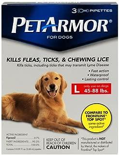PetArmor for Dogs 3pk Large 45-88lbs