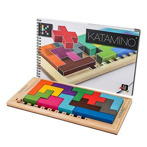[ ギガミック ] Gigamic カタミノ KATAMINO (カタミノ) 木製ボードゲーム パズルゲーム 並行輸入品 [並行輸入品]