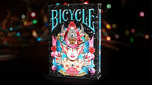 SOLOMAGIA Bicycle Mad World Playing Cards - Kartenspiel - Zaubertricks und Props