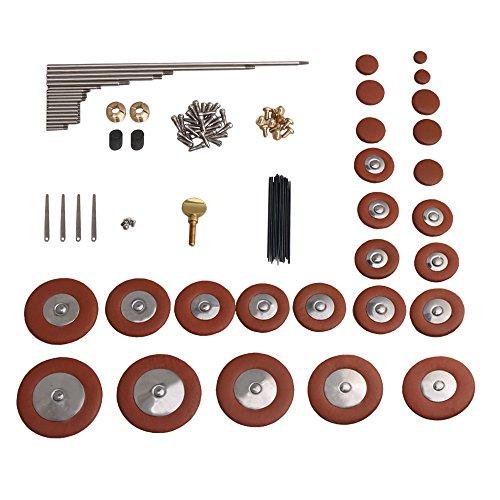 DIY Typ C Alto Saxophone Repair Tool Kit Alto Sax Repair Wartungsset Sax Inlays Zubehör