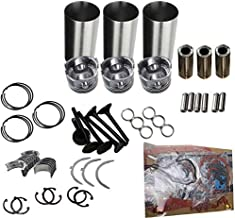 3TN75 3TN75E 3TN75U Engine Rebuild Kit for Yanmar Engine F17 FX17 FX16 Tractor Aftermarket Parts