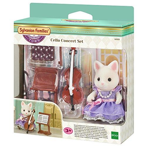 Sylvanian Families - 6010 - Cellokonzert Set (inkl. 1 Figur)