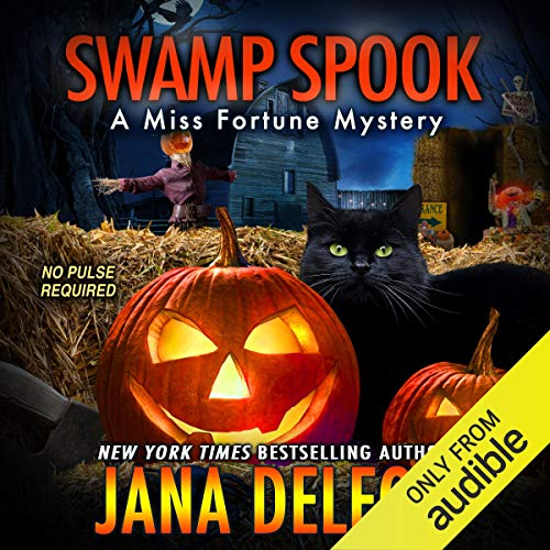 Swamp Spook audiobook cover art
