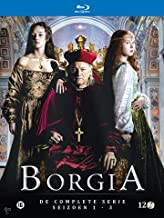 Borgia (Complete Series 1-3) - 10-Disc Box Set [ Blu-Ray, ALL REGIONS A/B/C Import - Netherlands ]