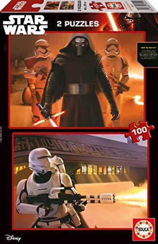 Educa Borrás Star Wars Puzzle Doble, 2 x 100 Piezas 16521