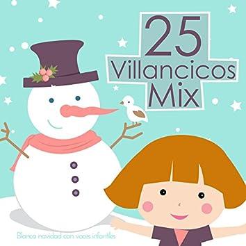 25 Villancicos Mix. Blanca Navidad Con Voces Infantiles