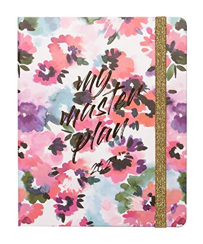 Agenda Settimanale 2021 My Master Plan, ideale per la scuola, lavoro e tempo libero, 17 mesi, 16x20 cm