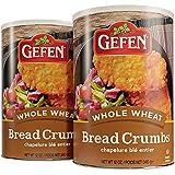 Gefen Whole Wheat Bread Crumbs 12oz (2 Pack), Zero Trans Fat, Sugar Free