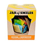 Smiles by Julie - Success and Inspiration Quotations in a Jar. A Thoughtful and Motivational Quote for Every Day of the Month. Ideal Gift for Inspiration and Encouragement. Comes in its own Gift Box.