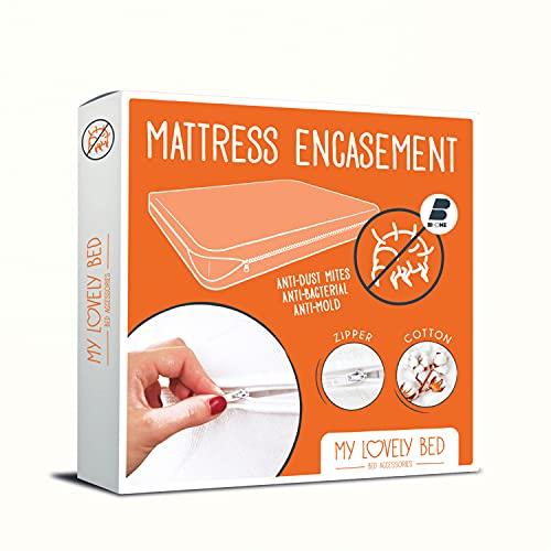 My Lovely Bed - Rénove Matelas 140x190/200 cm | Housse complète pour Matelas | Anti Acarien -...