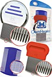 OwnHealer Head Lice Comb Set for Fast and Safe Lice, Eggs and Nits