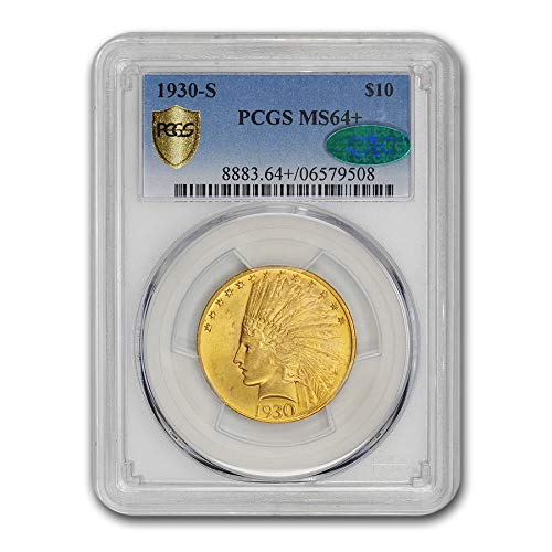 1930 S $10 Indian Gold Eagle MS-64 PCGS G$10 MS-64 PCGS