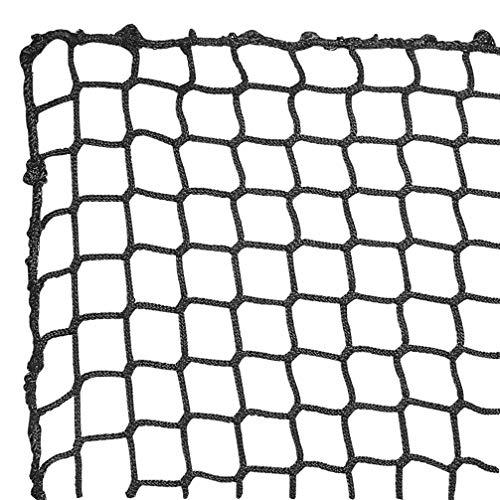 Aoneky Polyester Baseball Backstop Nets 10x10ft Sports Practice Barrier Net Heavy Duty Hitting Containment Netting Baseball High Impact Net