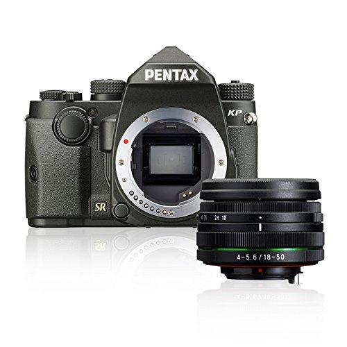 Pentax KP - Cámara réflex (24 MP, 18-50 mm) Color Negro