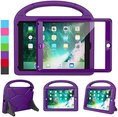 LEDNICEKER Kids Case for iPad 9 7 2018 2017 iPad Air 2 Built in Screen Protector Shockproof product image