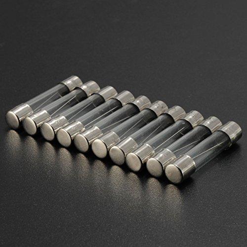 RanDal 10 Stück 1A-3.15A flinke Glassicherungen 6Mm x 30Mm - 3.15A