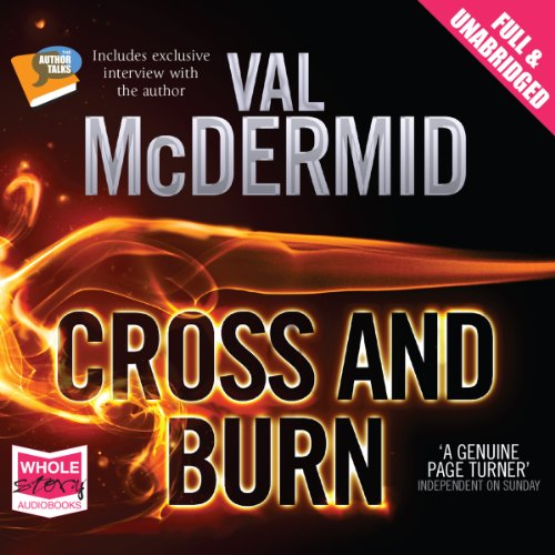 Cross and Burn audiobook cover art