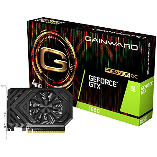 Gainward Grafikkarten (GeForce GTX 1650, 4 GB, GDDR5, 128 Bit, 4096 x 2160 Pixel, PCI Express X16 3.0)