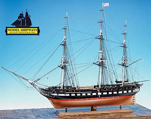 Model Expo Model Shipways USS Constitution 48   Long Wood KIt MS2040 1:76 Scale