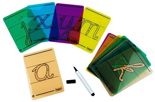 HenBea 1032 - Letras cursivas para trazar