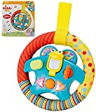 """Steering Wheel Toy """"My Little Driver"""" with Motion Sensors, Music, Lights and Sounds. Baby Driver Car Activity Toy. Mini Driving Musical Educational Learning Toy for Toddlers and Kids 1 to 6 Year Old"""