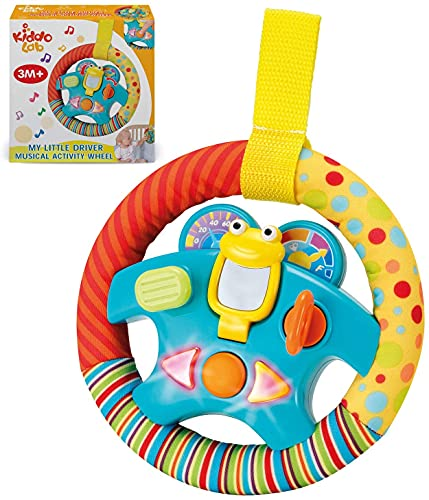 """Product Image of the Steering Wheel Toy """"My Little Driver"""" with Motion Sensors, Music, Lights and..."""