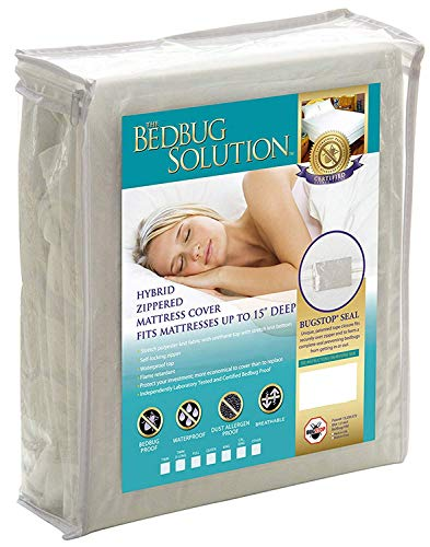 Bargoose Home Textiles, Inc. Bed Bug Solution Hybrid-Matratzenbezug, wasserdicht, mit...