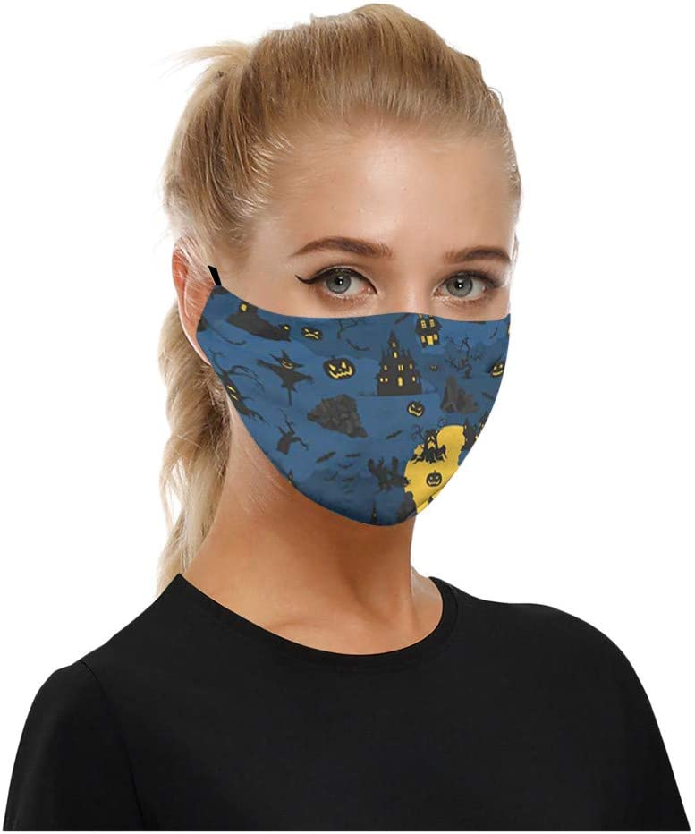 Soldering SOMESHINE 1PC A surprise price is realized Halloween Face_Masks for Be Plac Can Adult Filter
